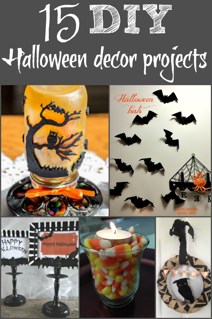 15 diy halloween decorations you can make at home. Black Bedroom Furniture Sets. Home Design Ideas