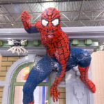 Don't forget to pose with LEGO Spiderman! Courtesy of LEGO® KidsFest.