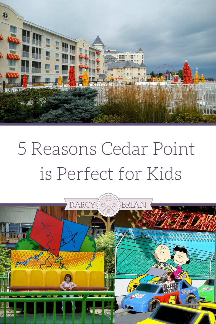 Looking for family vacation ideas? Check out the reasons one family thinks Cedar Point amusement park is perfect for kids. Family travel is fun when there are activities for everyone to enjoy. Find out why Cedar Point is a great choice for families with little kids.