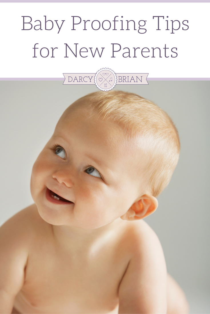 Check out our Top Baby Proofing Tips For New Parents! These are ideal tips to keep your baby safe, and your sanity in check when they start moving around! Learn an easy way to test for choking hazards and common baby safety items.