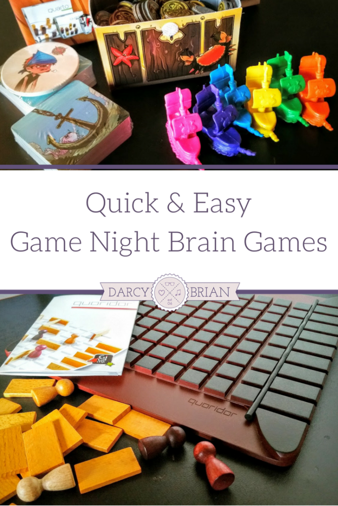 Looking for fun educational games to play with your kids? Check out these quick and easy brain games that are perfect for casual family game nights. They are quick and easy to set up, explain, and play in about 20 minutes. They make great stocking stuffers and gift ideas for kids! AD