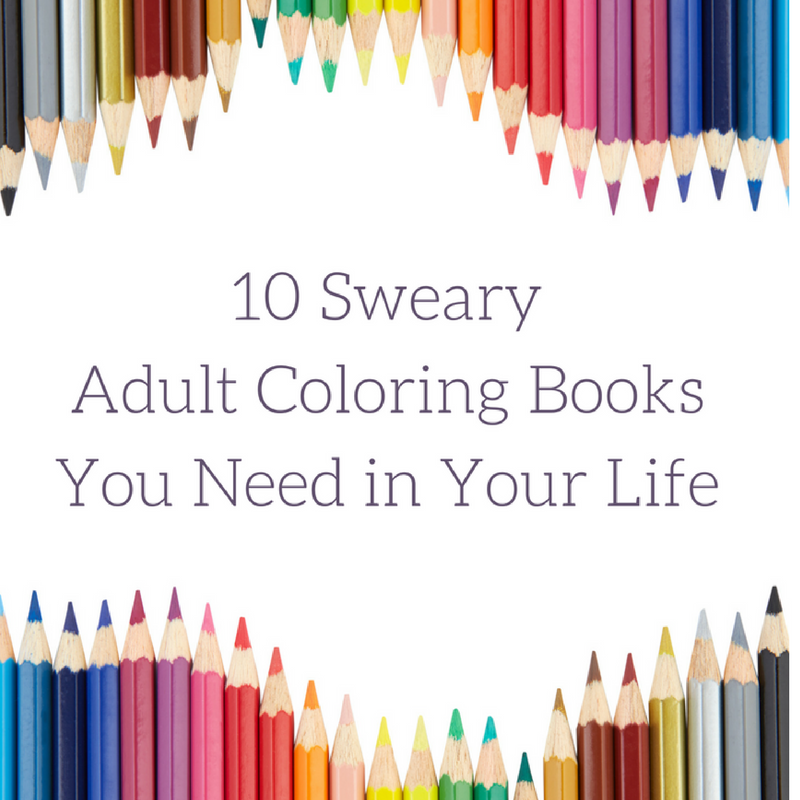 We love how relaxing coloring in an adult color book can be, but sometimes we're too angry for pretty flowers and mandalas. These sweary coloring books are extremely satisfying after a crappy day. These make a great gift for your mom friends or for a white elephant gift exchange. These are totally NSFW, but your close girlfriends will appreciate them.