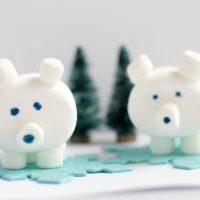 Marshmallow Polar Bear Craft