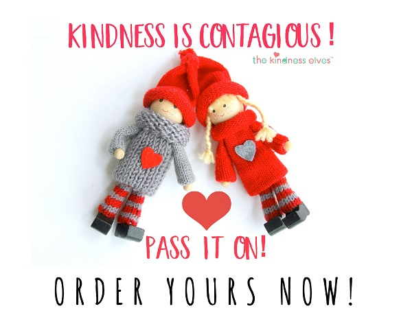 Order a Kindness Elf for a new holiday tradition.