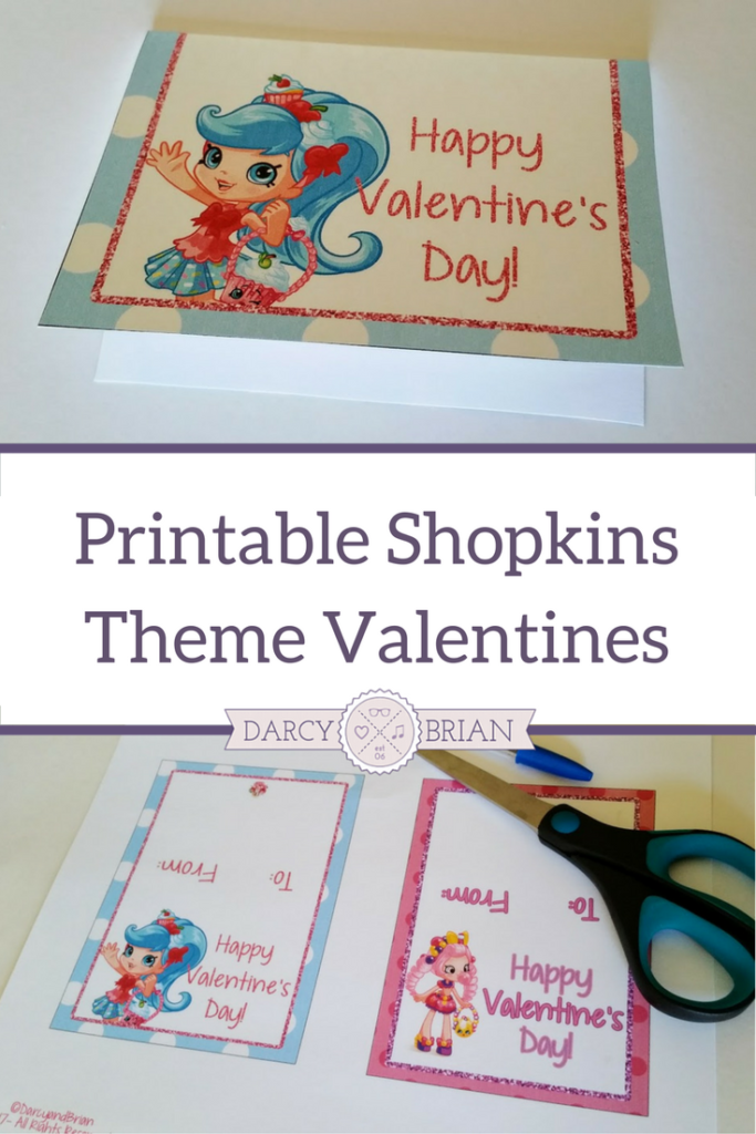 Does your kid and their friends love Shopkins? Mine does! Little Shopkins fans will love giving out these printable Shopkins Valentine's Day Cards at school! Perfect for classroom valentines.