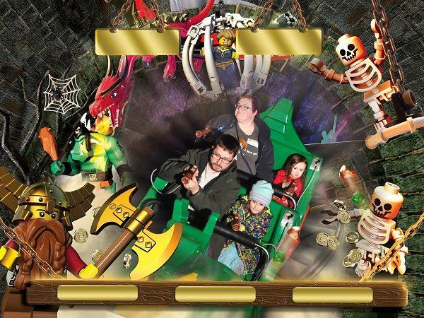 Kingdom Quest family ride at LEGOLAND Chicago