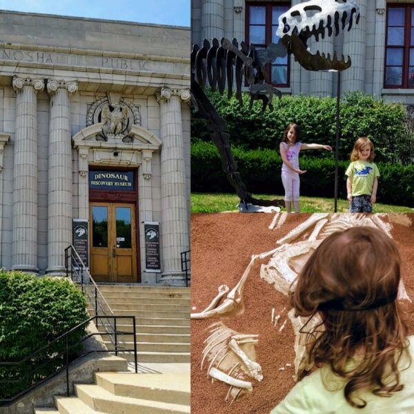 Visiting the Kenosha Dinosaur Museum with the kids. Find out what else is fun to do in Kenosha!