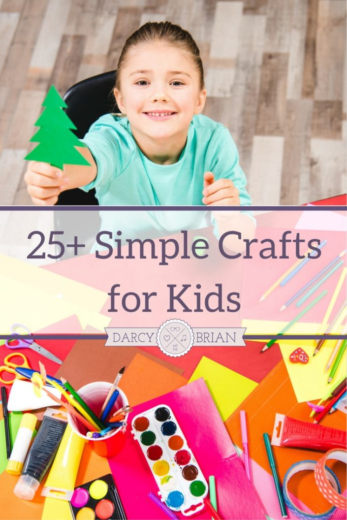 Keep the kids busy all year round with this list of fun and easy kids crafts and activities. Perfect for school breaks, homeschooling, rainy days, or any time you want to encourage your child to get creative!