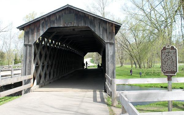 Covered Bridge Park in Ozaukee County