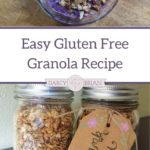 Looking for an easy gluten-free granola recipe? This recipe is simple to make at home and makes a perfect homemade DIY gift too!