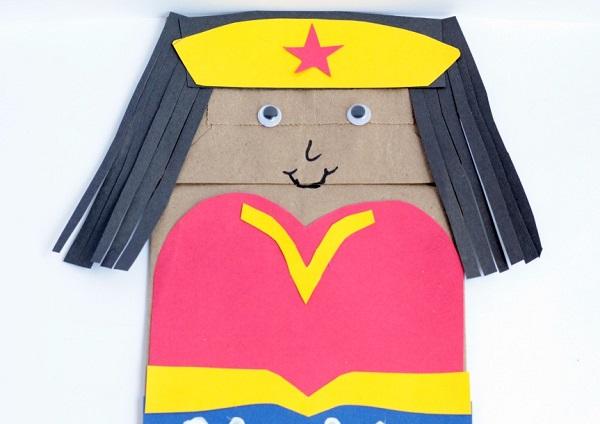 Superhero Craft Paper