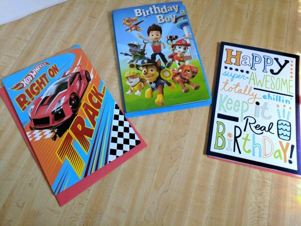 The three birthday cards I picked out #BirthdaysMadeBrighter #CollectiveBias #Shop
