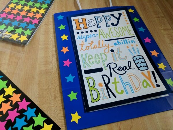 Simple ways to enhance gift bags #BirthdaysMadeBrighter #CollectiveBias #Shop
