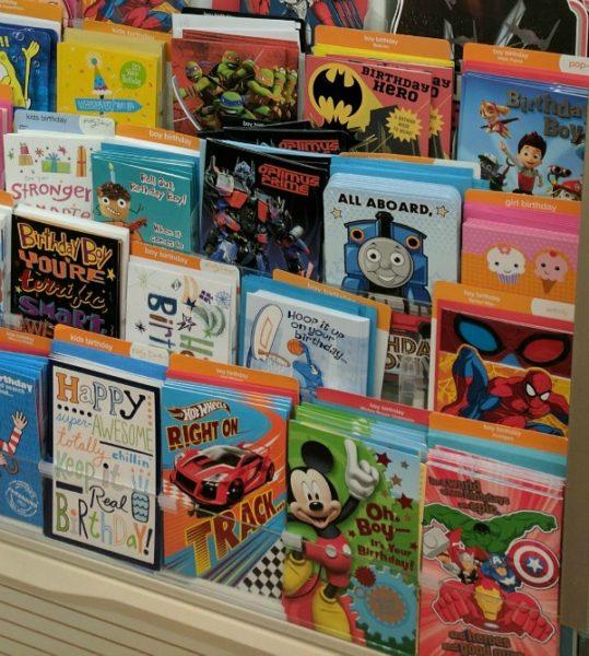 Variety of American Greetings kids birthday cards #BirthdaysMadeBrighter #CollectiveBias #Shop