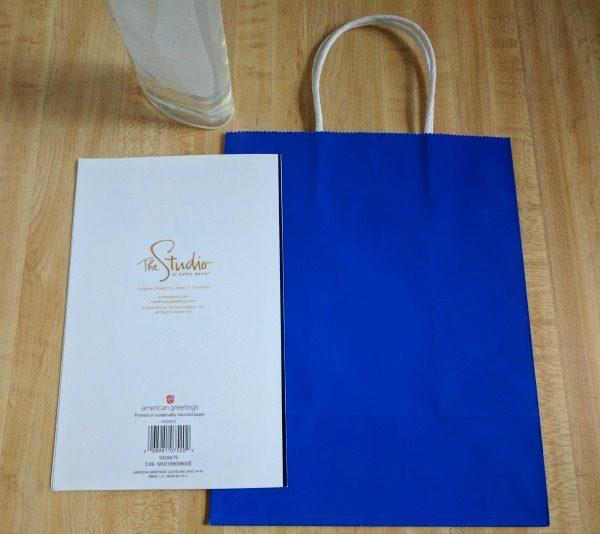 Step by step tutorial to enhance a kids birthday gift bag #BirthdaysMadeBrighter #CollectiveBias #Shop