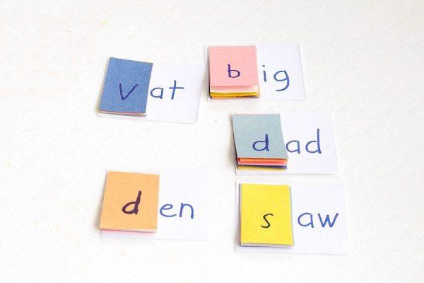 DIY Sight Word Families Flip Book
