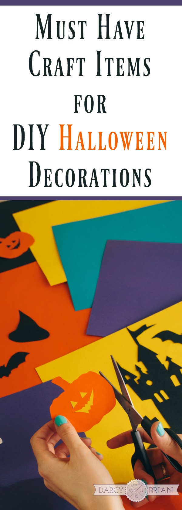 Get Ready For Some Serious Crafting With This Craft Supply List Halloween Decoration Items
