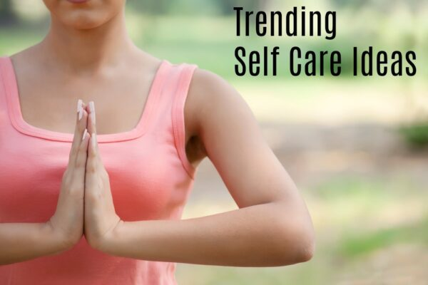 These 4 Trending Self Care Ideas are ones you simply can't ignore! Check out these top self care ideas that are perfect for busy moms and see how anyone can implement them. It's important to take care of yourself, but sometimes we feel so overwhelmed that we don't know how to fix it. These ideas are easy ways to make positive changes in your life so you can feel less stressed.