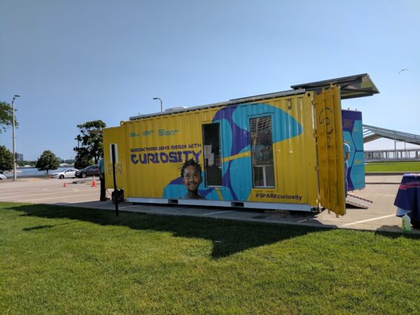 The Curiosity Cube - mobile science lab