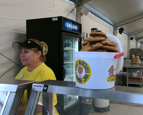 A bucket of Sweet Martha's cookies is a sweet Minnesota State Fair treat!