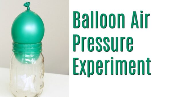 Learn how to conduct a balloon air pressure experiment at home