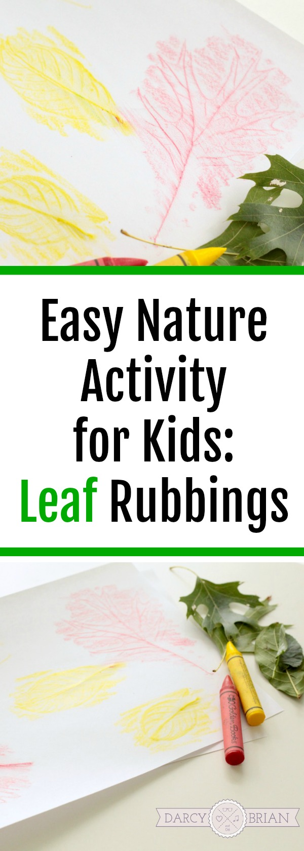 This is such an easy and fun nature science activity for kids! Leaf rubbing for kids doesn't require a ton of supplies - just fall leaves and crayons! Get the children outside with hands on activities and projects with these leaf rubbings ideas. Perfect for preschool, kindergarten, and first grade.
