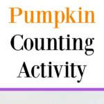 What a cute kids activity for fall! This Number Recognition Using Mini Pumpkin Erasers activity is a fun-filled game that is perfect for Halloween! This easy learning game is idea for preschool, kindergarten, and first grade or any child who is still learning to count and identify numbers. Great idea for fall math centers!