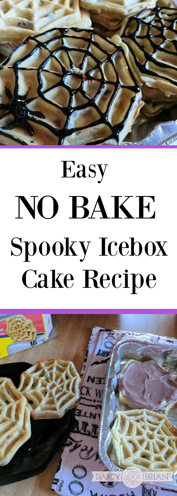 [AD] Looking for an easy no bake ice box cake #recipe for Halloween? This Spooky Icebox Cake recipe puts a twist on a classic. Great fall treat the kids can make with you for an after school snack or a Halloween party! #LeggoMyEggo #HearTheNews #AD