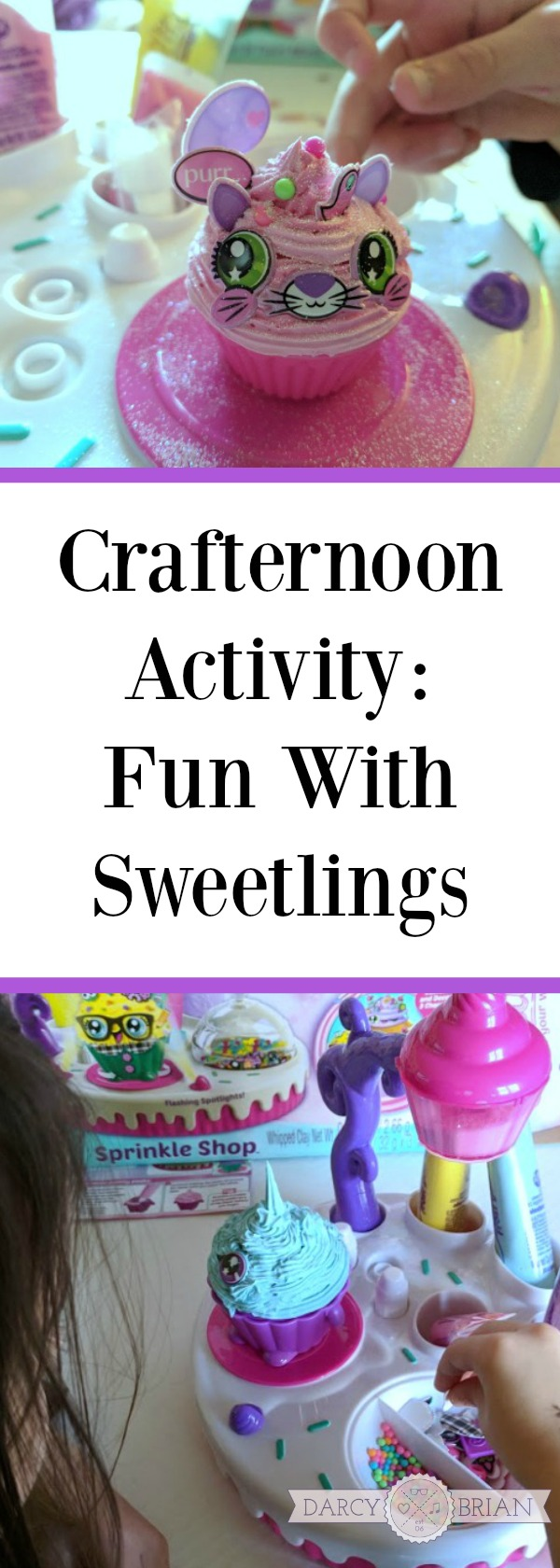 AD: Looking for a craft activity that sparks your child's imagination? Check out the fun of a crafternoon activity with Sweetlings. Makes a great Christmas gift for kids! #crafts #Christmas #kids