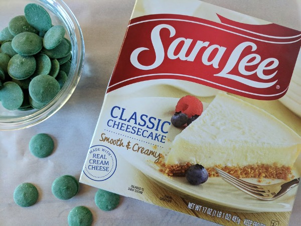 How to use frozen cheesecake for a dessert hack.
