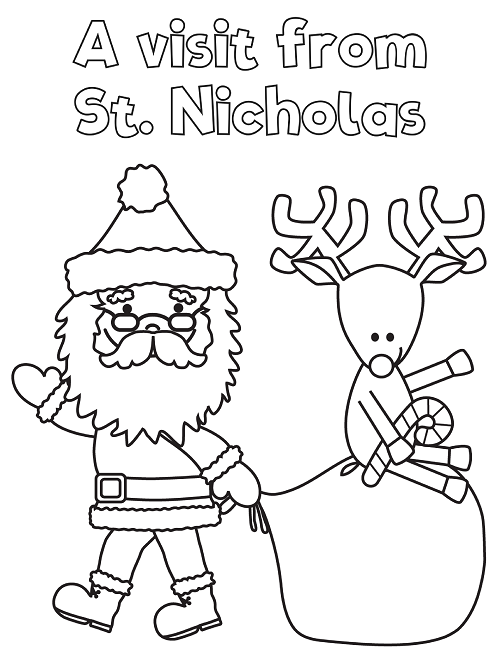 Grab our free Printable Christmas Games Coloring Workbook to help kids busy during the hectic holiday season! This is a great stocking stuffer activity!