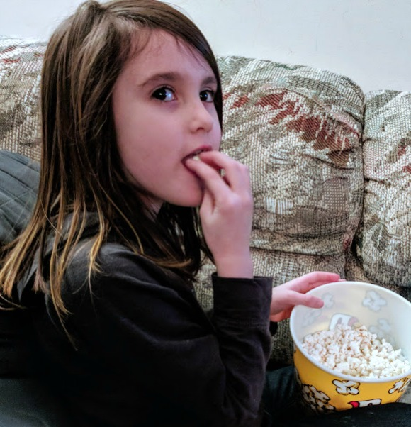 Popcorn for family movie night
