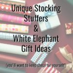 I want these! Looking for unique stocking stuffers for Christmas or fun white elephant gift ideas? You'll love these fun and functional ideas. Perfect for those hard to buy for people on your holiday list. #Christmas #whiteelephant #gifts