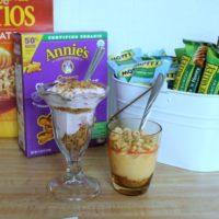Easy After School Snack: Yogurt Parfaits