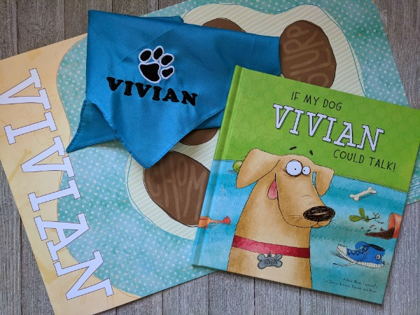 personalized childrens book about dogs
