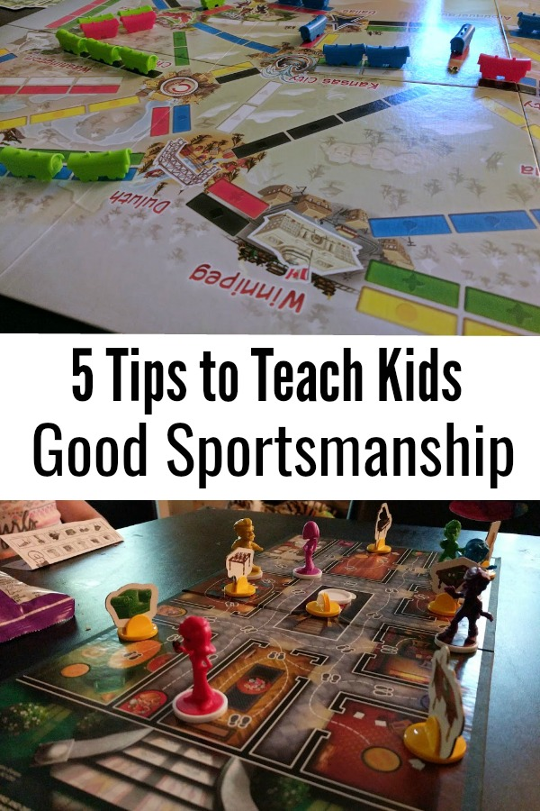 Do your kids have a hard time losing when playing board games? Learning how to lose gracefully is a process and can be a tough concept for preschoolers. Here are some tips on how you can teach your kids good sportsmanship. These tips apply to family game night and kids team sports, too.