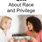 It's important to talk to each other about social justice issues which includes racism and privilege. As parents, it's important to teach our children about this as well. Check out this openhearted discussion on race and privilege.