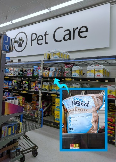 Where to find LitterMaid® Premium Walnut at Walmart
