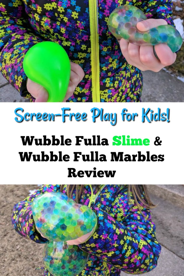 AD: Looking for screen-free activities and toys that engage the senses? Check out this Wubble Fulla Slime and Wubble Fulla Marbles review. Kids love playing with these and won't want to put them down! These make perfect gifts for Easter baskets and stocking stuffers.
