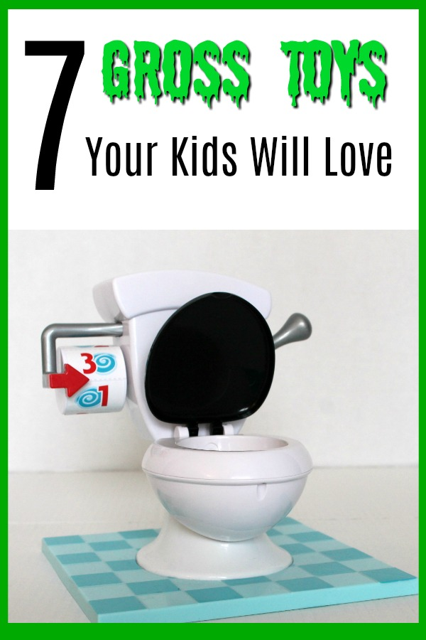 Eww! You may be more grossed out than your kids with these toys focused on toilet humor and disgusting garbage. Who knew a toy about poo could be so adorable though? Click to check out these 7 Gross Toys Your Kids Will Love!