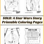 Do you and your kids love Star Wars? Have fun with these free printable SOLO: A Star Wars Story coloring pages and activities featuring Han Solo, Chewbacca, Lando, and more!