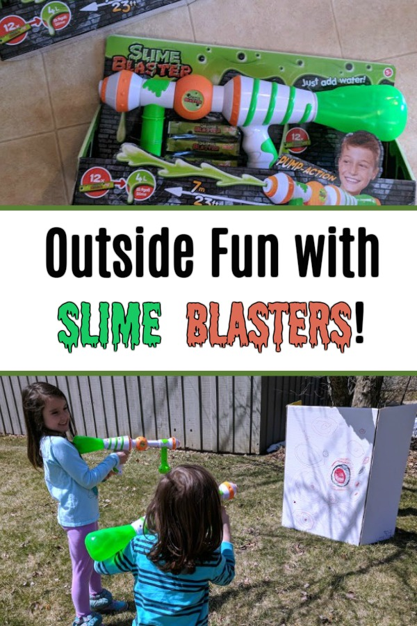 AD: Looking for a new twist on playing with slime? Try something different than a regular water gun and get the kids outside this summer with Slime Blasters! Check out this toy review with kids and a demo of how the Slime Blaster works.