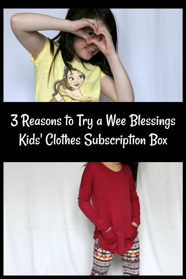 AD: Have you wondered if getting a children's clothing subscription box is worth it? Check out the benefits this mom discovered by having kid outfits styled by Wee Blessing. Learn about the time and money savings and check out the unboxing to give you an idea of what to expect.