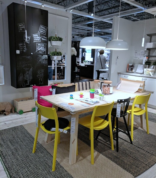 IKEA family kitchen showroom