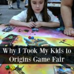 When you play games more than the occasional family game night, a board game convention makes an excellent family vacation. I share why we took a road trip to Origins Game Fair with our kids and why I wanted them to attend with me.