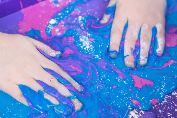 Galaxy Oobleck Kids Activity
