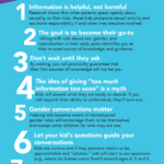 Great tips and information for parents on how to talk to young kids about sex ed topics. Use these to spark conversations and teachable moments. @AMAZEorg #AMAZEParents #ad