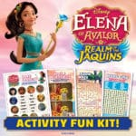 Printable activities for Elena of Avalor