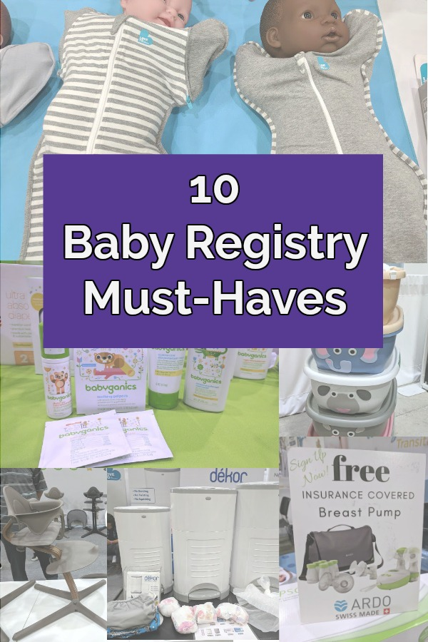 AD: Check out our TOP 10 baby gear picks from the Chicago Baby Show 2018. These make great baby shower gifts, so add these baby items to your baby registry! Parents will love these practical and function baby products for newborns through toddlers, such as a breast pump, infant bath tub, storage bins, teething, high chair, easy swaddling, and more! #Chicagobabyshowblogger