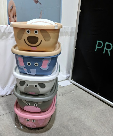 Prince Lionheart tubimals baby tub and storage